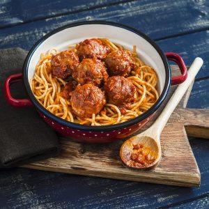 Boulettes sauce bolognaise
